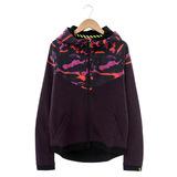NIKE(女)棉質--運動外套(連帽)-紫-687602507