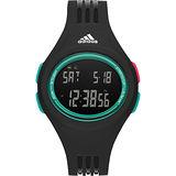adidas Performance 時尚果凍色元素電子錶-黑/42mm ADP3229