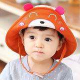 韓版-卡哇以小熊造型寶寶兒童盆帽