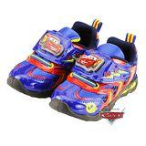 【MODAbobo】迪士尼Disney 中大童段 閃電麥坤發亮電燈運動鞋-藍 D6S9-553059