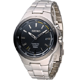 SEIKO Kinetic 鈦 爭鋒時刻人動電能腕錶 5M82-0AT0D SKA715P1