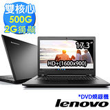 Lenovo IdeaPad 300《17吋 無系統》雙核心 2G獨顯 500G HD+ 超值大筆電(80QH005MTW)★送lenovo滑鼠+清潔組+鍵盤膜+滑鼠墊