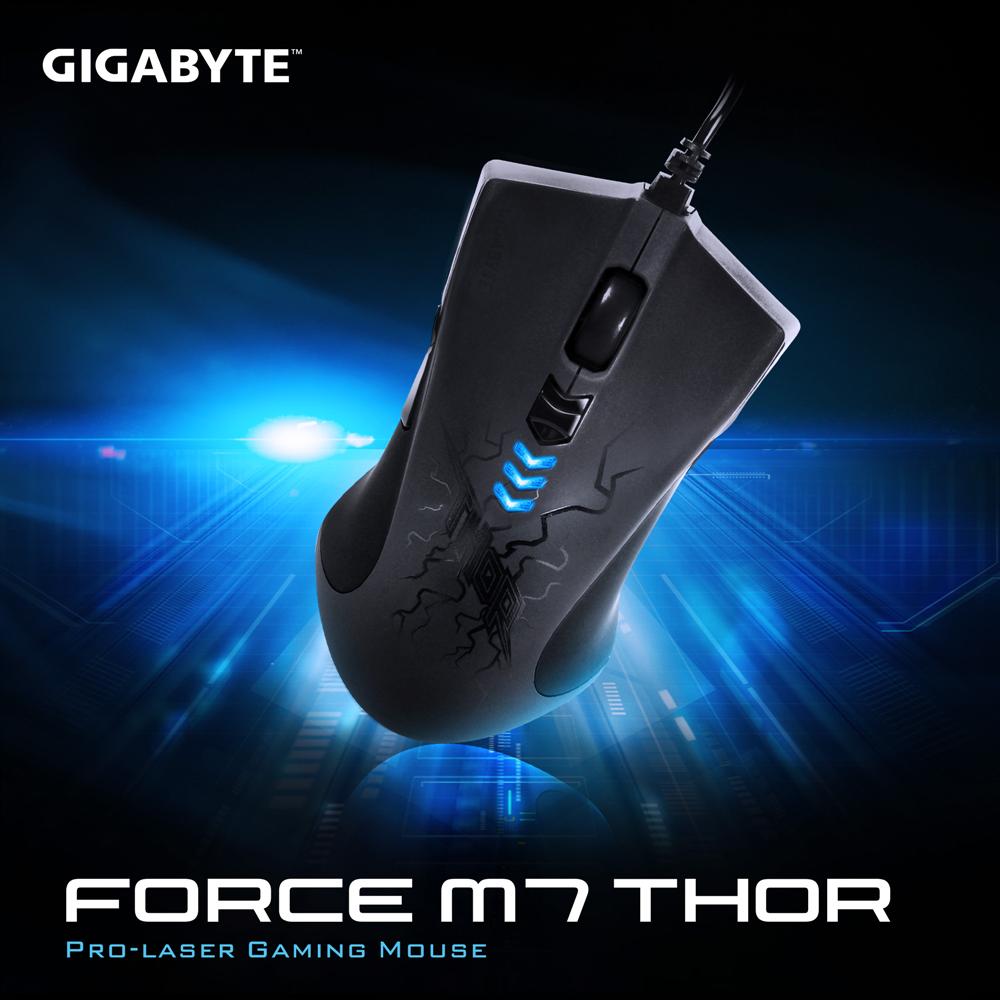 技嘉 GIGABYTE FORCE M7 THOR 專業雷射遊戲滑鼠