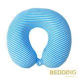 【BEDDING】低反彈舒壓頸枕 條紋藍