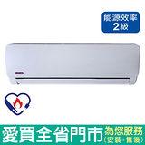 松立分離式冷氣3-5坪CI-286K/CO-286K 含配送到府+標準安裝
