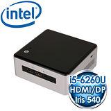 INTEL NUC NUC6I5SYH(i5-6260U) Kit mini PC《搭載Skylake第六代 CPU》