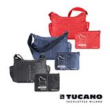 TUCANO COMPATTO 超輕量防水尼龍折疊收納側背包
