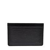 Louis Vuitton LV M63512 EPI 水波紋皮革信用卡名片夾.黑 預購