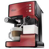 Oster奶泡大師義式咖啡機BVSTEM6602R紅
