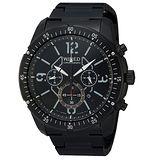 WIRED 衝破天際三眼計時腕錶(IP黑/46mm) 7T12-X001SD 國際碼:AW8003X1