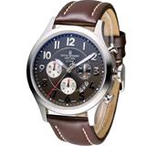 梭曼 Revue Thommen XLARGE系列復古機械計時腕錶 16062.6536