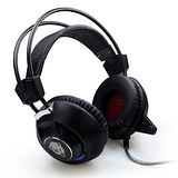 F35 專業電競 發光重低音震動 全罩式耳機麥克風