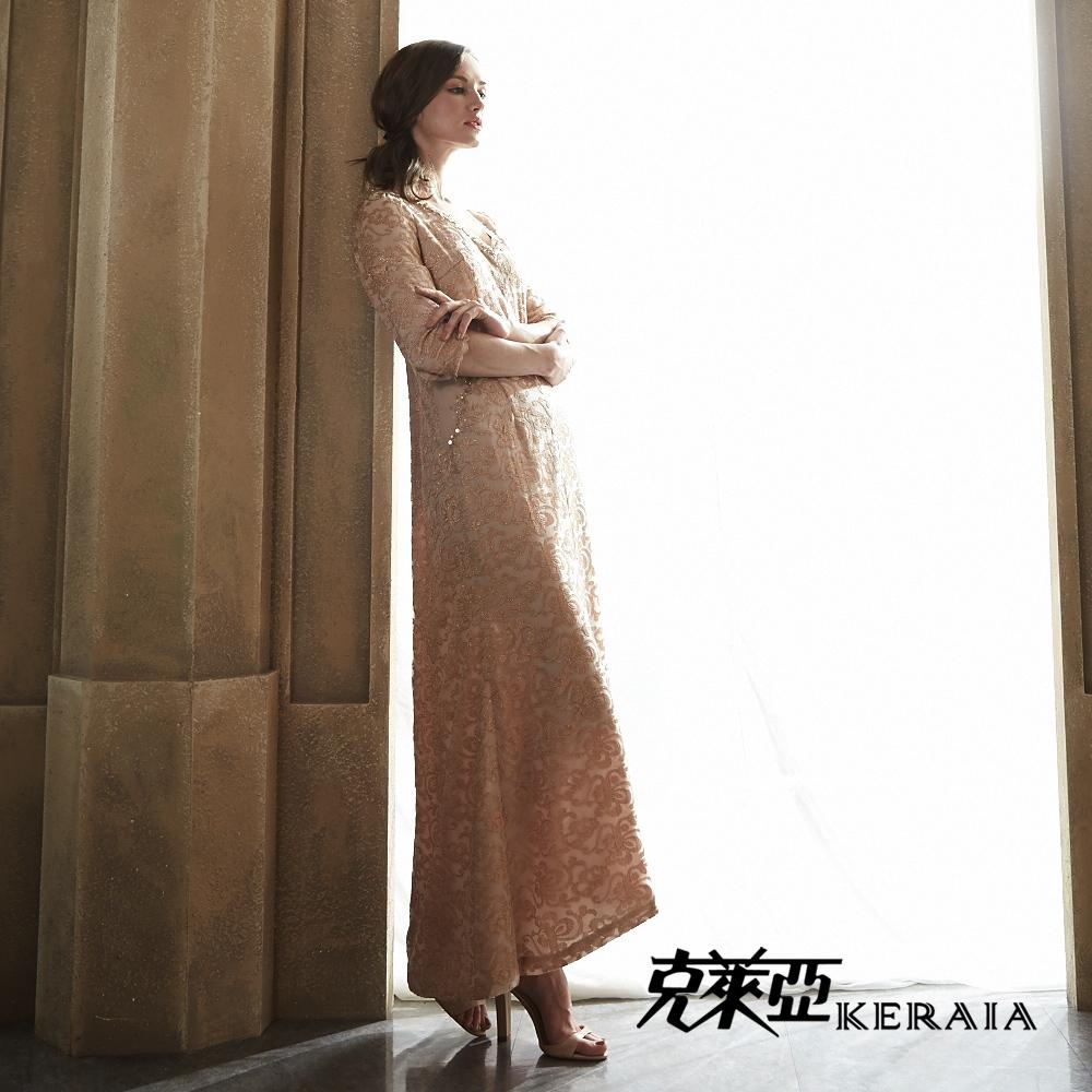 克萊亞KERAIA 蕾絲長禮服