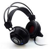 F35 專業電競 發光重低音震動 全罩式耳機麥克風 ..