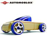 Automoblox德國原木變形車Mini-T9藍