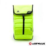 AIRWALK - 輕量簡易造型後背包 - 螢光黃