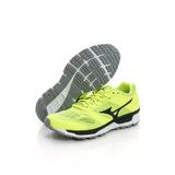 MIZUNO 美津濃 (男)慢跑鞋-綠黑-J1GE161909