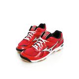 MIZUNO 美津濃 (男)排羽球鞋-紅-V1GA157005
