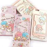 Sanrio iPhone 6 Plus/6s Plus 皮革彩繪多功能兩用皮套(可拆殼)-雙子星
