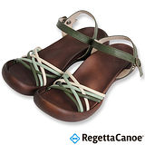 RegettaCanoe (女款)CJFD-5311優雅樂步休閒鞋-綠色