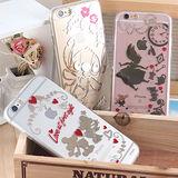 Disney iPhone 6 Plus/6s Plus 時尚質感電鍍系列彩繪保護套