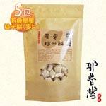 【那魯灣】有機星星糙米餅(米果) 5包 (40g/包)