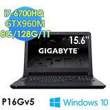 GIGABYTE技嘉 P16Gv5 15.6吋 i7-6700HQ GTX960M WIN10