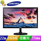 SAMSUNG S22F350FHE 22型雙介面低藍光電競液晶螢幕
