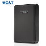 HGST Touro 系列 2.5吋 USB 3.0 2TB 外接式行動硬碟 (黑色)