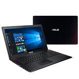 【ASUS華碩】X550VX-0053J6300HQ i5-6300HQ 4G記憶體 15.6吋FHD 1TB(7200轉) GTX950M 2G W10 (黑紅) ★贈電競禮包★