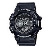 G-SHOCK 強悍潮流時尚運動男用腕錶-52mm/GA-400GB-1A/現貨