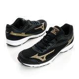 MIZUNO 男 慢跑鞋 黑 - J1GA168350