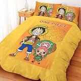 【享夢城堡】航海王 邁向未來系列-單人三件式床包涼被組