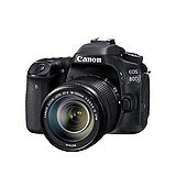 Canon EOS 80D + 18-135mm 單鏡組*(中文平輸)-送強力大吹球+細纖維拭鏡布+極細毛刷+數位清潔液+硬式保護貼
