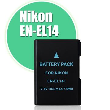 Nikon EN-EL14 / EN-EL14a 高容量防爆相機電池