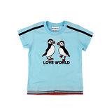 【愛的世界】LOVEWORLD 海鸚鵡系列純棉圓領短袖T恤/2~4歲-台灣製-