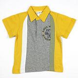 【愛的世界】LOVEWORLD 河馬系列河馬圖案純棉短袖POLO衫/10~12歲-台灣製-