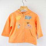【愛的世界】MYBABY 歡唱時光系列純棉連帽拉鍊外套/2~3歲-台灣製-