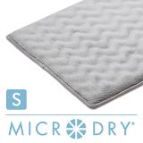 【MICRODRY時尚地墊】3D波紋記憶綿-(灰姑娘S)