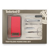 Timberland 多功能時尚6件式修容組禮盒-紅色