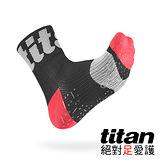 Titan 功能慢跑襪Race[黑]