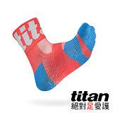Titan 功能慢跑襪Race[桔紅]