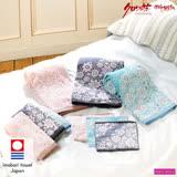 【クロワッサン科羅沙】日本ISSO ECCO今治(imabari towel)~無撚踏雪尋花方巾34*35cm