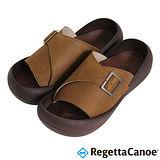 RegettaCanoe (男款)CJBF-5142優雅樂步休閒鞋-褐色