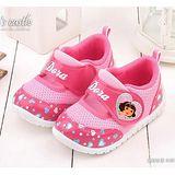 童鞋城堡 朵拉 中小童 可愛心型運動鞋DR87075 粉