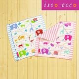 【クロワッサン科羅沙】日本ISSO ECCO今治(imabari towel)~無撚棉紗逛街動物方巾 34*35cm