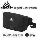 【美國Gregory】Digital Gear Pouch日系單眼相機側背包-黑色(1680D)