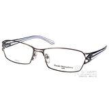 Masaki Matsushima光學眼鏡 日本 β 鈦金屬系列(槍銀-藍) #MF1188 C05