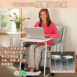 Osun DIY白色升降書桌餐桌2入 CE-205