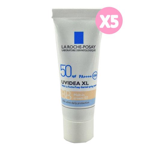 La Roche Posay 理膚寶水 全護臉部清爽防曬BB霜03(粉嫩色)3ml*5